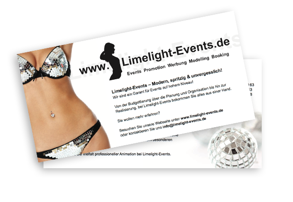 Limelight Events Flyer